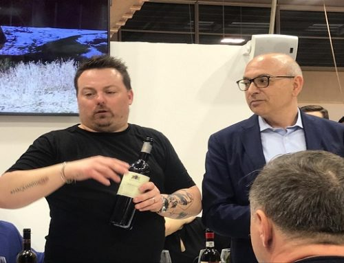 Vinitaly 2019 con Luca Gardini miglior Somellier del mondo al Padiglione 7-Stand E3