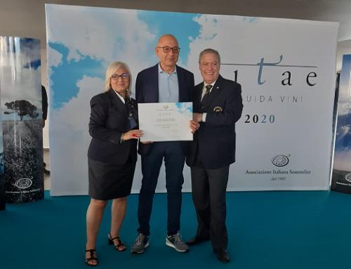 """La Caparra & Siciliani """"vola"""" a Roma per la premiazione del Cirò Doc Rosso Classico Superiore Riserva 2016"""
