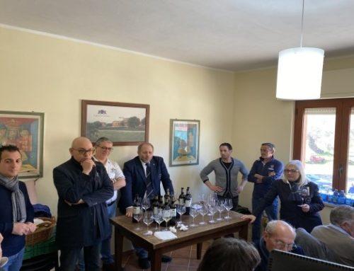 """Ais Calabria con ottanta sommelier calabresi in visita alla Caparra & Siciliani per degustare il """"vincitore"""""""